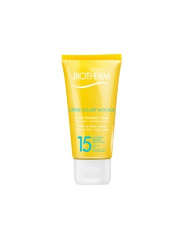 Sun cream BIOTHERM Creme Solaire Dry Touch 15 SPF
