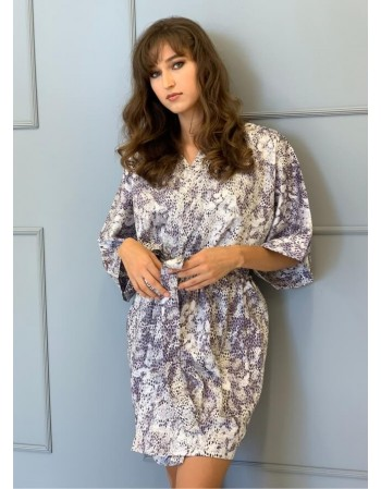 "Kimono from Satin ""Savana"""