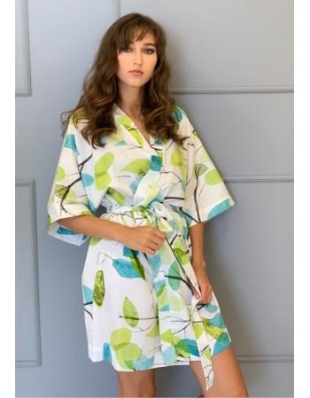 """Satino kimono """"Pavasario dvelksmas"""""""