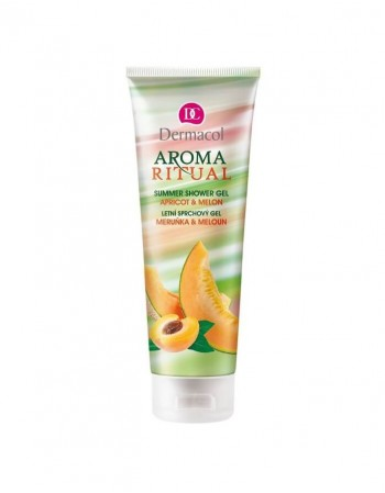 Shower gel DERMACOL AROMA RITUAL Apricot&Melon, 250 Ml