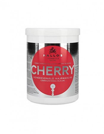 Hair Mask KALLOS COSMETICS Cherry for dry damaged hair