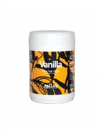 Hair mask KALLOS COSMETICS Vanilla for a shine
