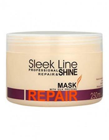 Plaukų Kaukė SLEEK LINE Repair, 250 Ml