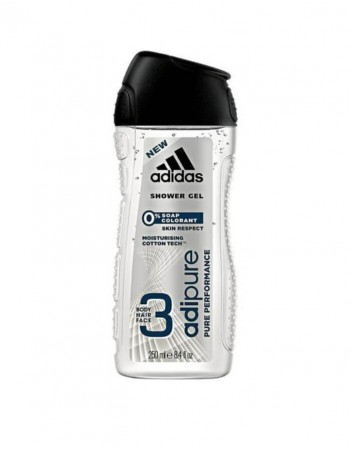 "Dušo želė ADIDAS ""Adipure pure performance"", 250 Ml"