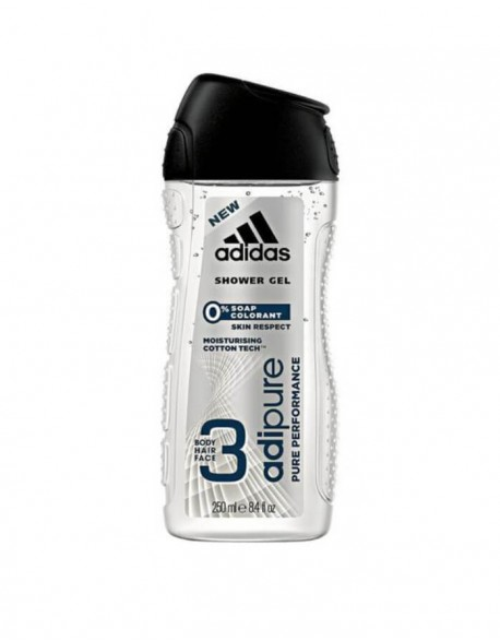 V.Dušo želė ADIDAS Adipure pure performance, 250 Ml