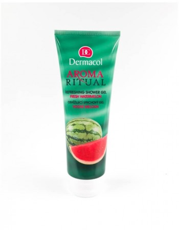 Shower gel DERMACOL Aroma Ritual, Fresh watermelon, 250 Ml