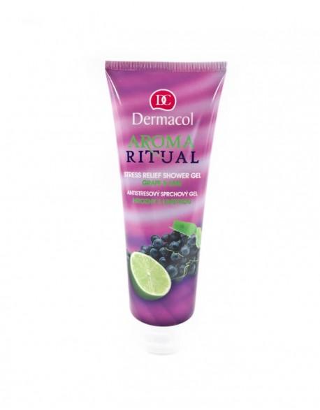 Dušo želė DERMACOL Aroma Ritual, Grape&Lime