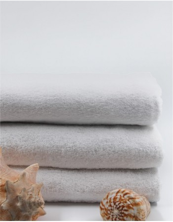 "Worsted Cotton Towel ""White Pearl"""