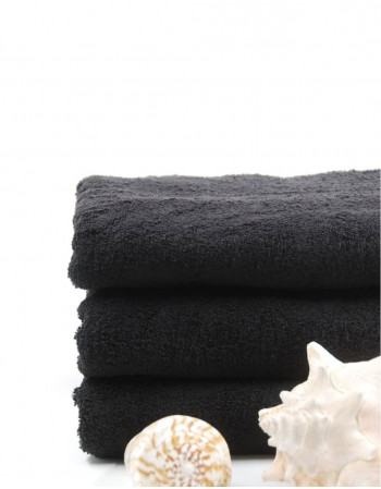 "Worsted Cotton Towel ""Black Cotton"""