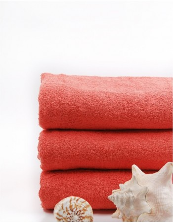 "Worsted Cotton Towel ""Coralio"""