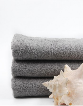 "Worsted Cotton Towel ""Grey in Dark"""