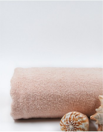 "Worsted Cotton Towel ""Light Pink Cotton"""
