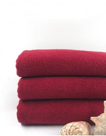 "Worsted Cotton Towel ""Red Dream"""