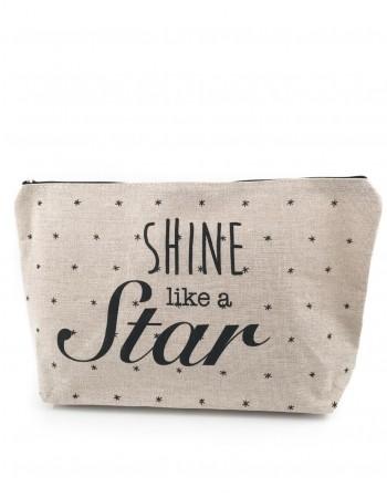 """Cosmetiks Bag """"Shine Like a Star"""""""