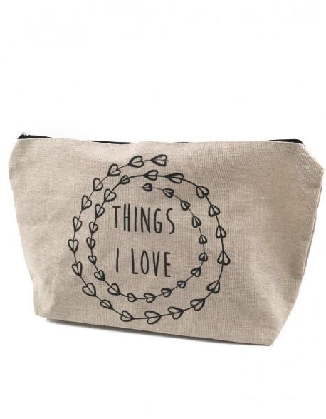 """Kosmetinė """"Things I Love"""""""