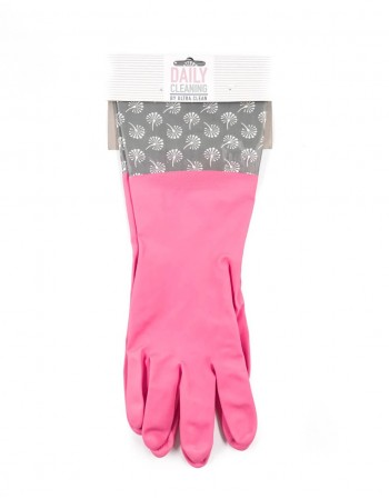 """Rubber gloves """"Pinky Clean"""""""