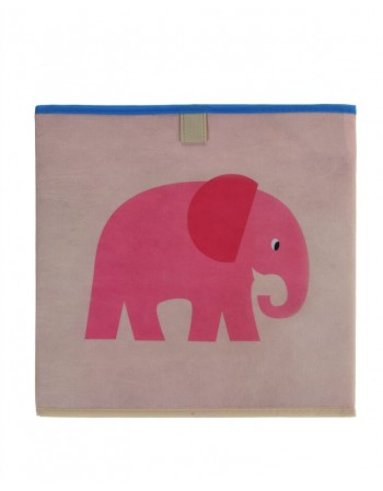 "Storage Bag ""Pink Elephant"""