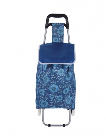 "Leisure Bag ""Blue Flower"""