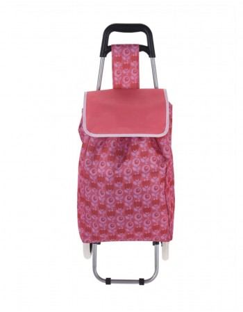 "Leisure Bag ""Red Flower"""
