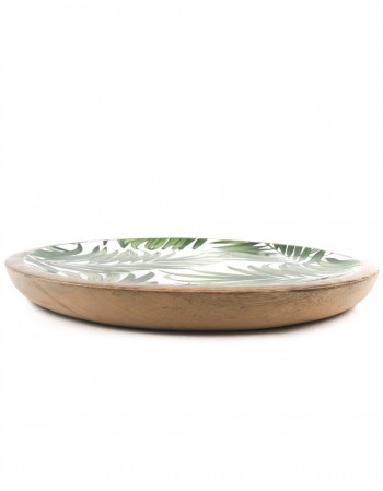 "Bamboo Plate ""Green Forest"""