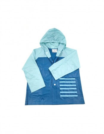 "Baby Raincoat ""Blue Tabby"""