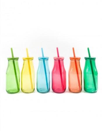 "Set of glasses ""Multicolor"""