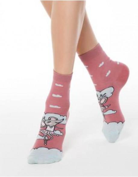 """Moteriškos kojinės """"Balerinna Mouse"""""""