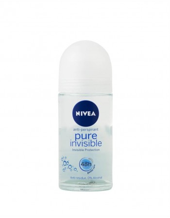 "Moteriškas Antiperspirantas ""Nivea Pure Invisible"", 50 ml"