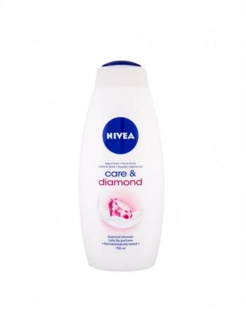 "Shower gel ""Nivea Care & Diamond"", 750 ml"