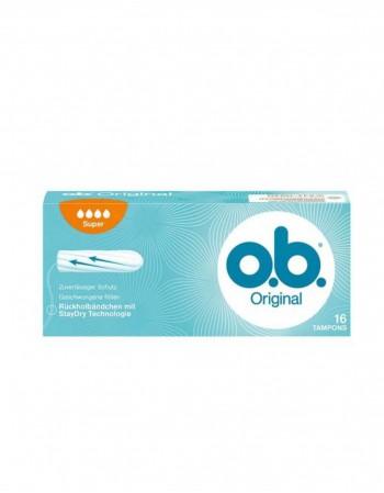 """Tamponai """"O.B. Original Super"""", 16 vnt."""