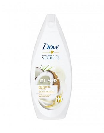 "Shower gel ""Dove Coconut & Almond Milk"", 250 ml"