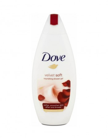 """Shower gel """"Dove Velvet Soft"""", 250 ml"""