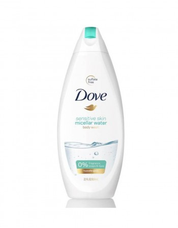 "Dušo Želė ""Dove Micellar Water"", 250 ml"