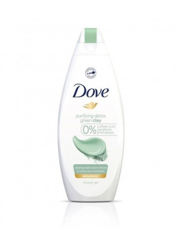 "Shower gel ""Dove Green Clay"", 250 ml"