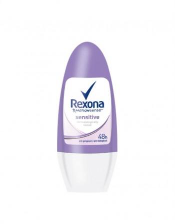 "Moteriškas Antiperspirantas ""Rexona Sensitive"", 50 ml"