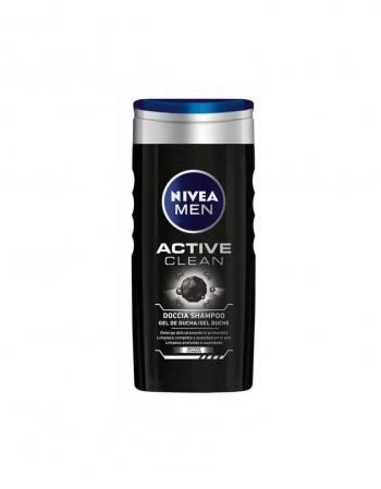 "Vyriška Dušo Želė ""Nivea Active Clean"", 250 ml"