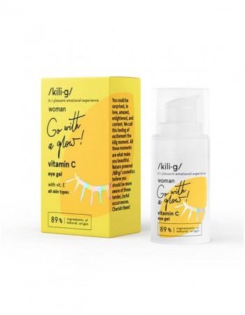 Paakių gelis KILIG Vitamin C, 15 Ml