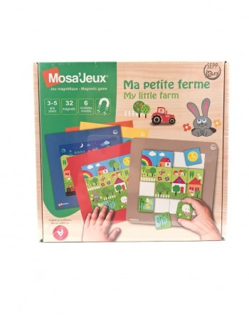 """Magnetinė Mozaika """"My Little Farm"""", 32 detalės"""