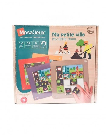 "Magnetinė Mozaika MOSA JEUX ""My Little Town"", 32 detalės"