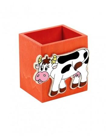 """Vaikiška Pieštukinė """"Orange Cow"""""""