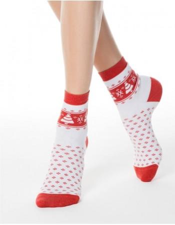"""Moteriškos kojinės """"Fir Red"""""""