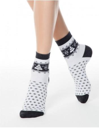 """Moteriškos kojinės """"Fir Grey"""""""