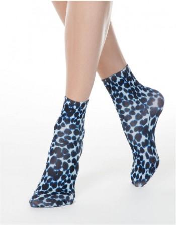 """Moteriškos kojinaitės """"Blue Tiger"""""""
