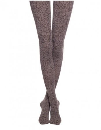 "Women's Tights ""Fantasy Python Cacao"" 50 Den"
