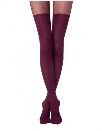 "Women's Tights ""Fantasy Sensation Marsala"""