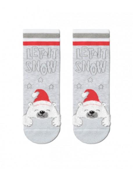 """Vaikiškos kojinės """"Let it snow"""""""