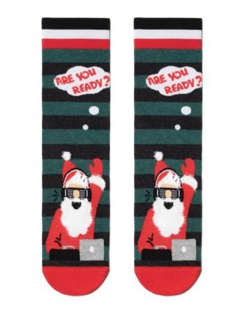 """Vyriškos kojinės """"Big Dj Santa"""""""