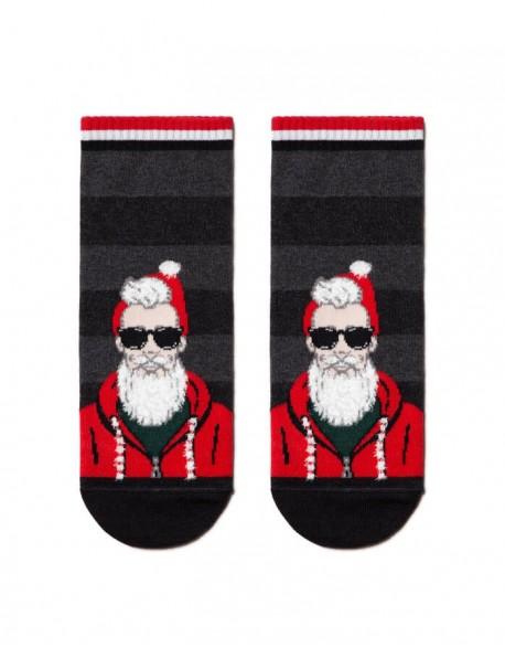 """Vyriškos kojinės """"Fashionable Santa"""""""
