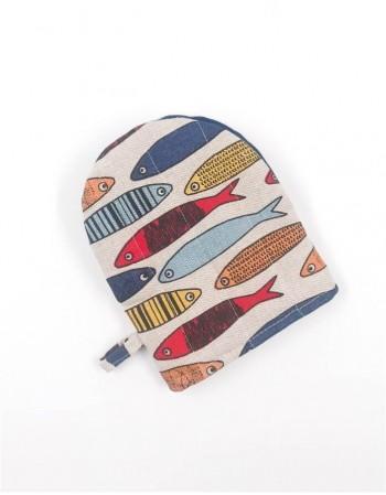"""Кухонная перчатка """"Colorful Fishes"""""""