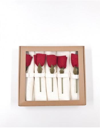 """Servetėlių Rinkinys """"Flowering Table"""""""